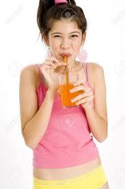 The neighbor loves orange soda