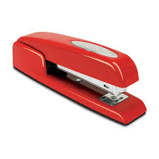 You can borrow my stapler if you want to